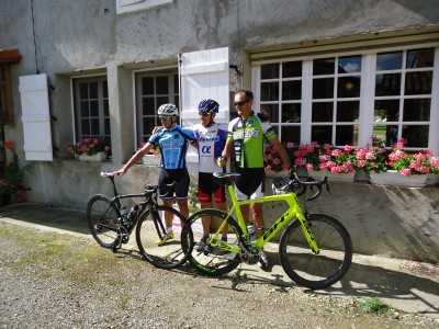Cyclists who competed in the Ariegeoise - always held the last Saturday in June