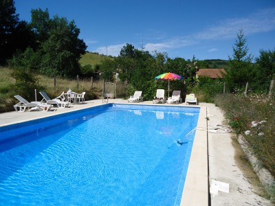Grande piscine 12 x 6 metres