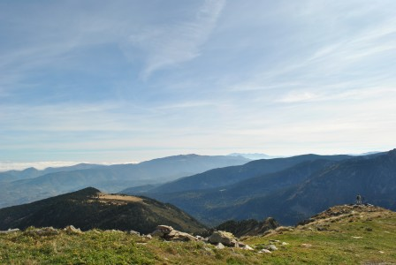 mountain scenery ariege