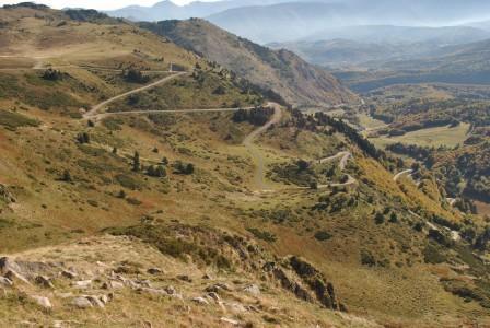 pyrennes mountain climb ariege