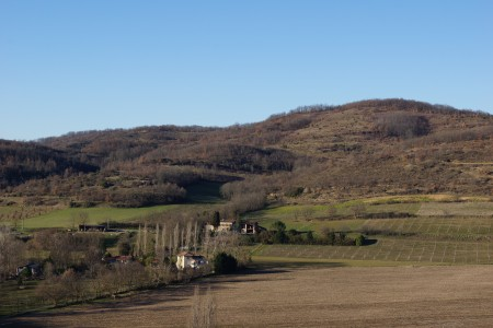 scenery ariege valley dun engravies